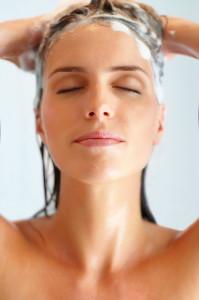 Epsom salt hair wash