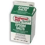 Pure Epsom Salt in Small Packs